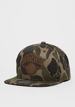 Snapback-Cap Lux NBA New York Knicks camo