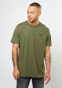 T-Shirt Chest Logo olive night