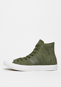 Converse Schuh Chuck Taylor All Star II Hi herbal/white/gum