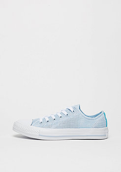 Chuck Taylor All Star Ox porpoise/fresh cyan/white