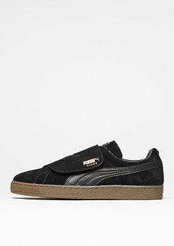 Schuh Suede Strap Gum black