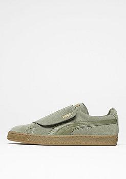 Schuh Suede Strap Gum green