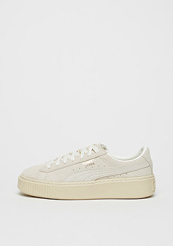 Suede Platform shell/whisper white