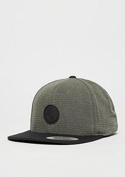 Volcom Snapback-Cap Quarter Fabric grey/black