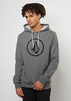 Hooded-Sweatshirt Stone dark grey