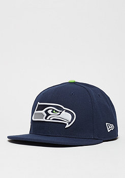Fitted-Cap 59Fifty On Field NFL Seattle Seahawks navy