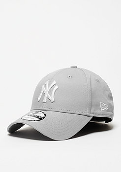Baseball-Cap 9Forty League Basic MLB New York Yankees grey/white