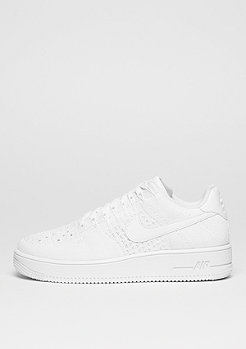 NIKE Air Force 1 Flyknit Low white/white/white
