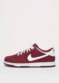 Basketballschuh Dunk Low team red/white