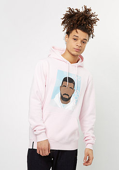 Hooded-Sweatshirt WL Real Good pale pink