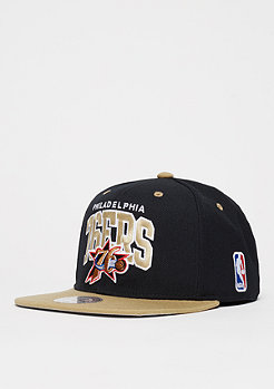Mitchell & Ness Team Arch NBA Philadelphia 76ers black/sand