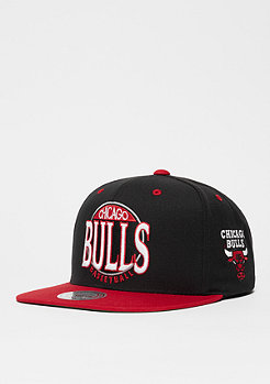 Mitchell & Ness On The Spot NbA Chicago Bulls black/red