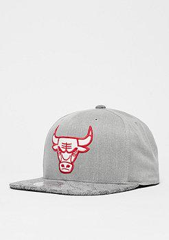 Cracked NBA Chicago Bulls grey