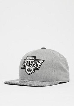 Cracked NHL Los Angeles Kings grey