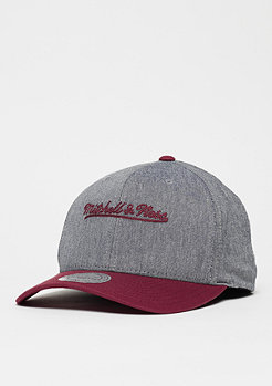 Mitchell & Ness Link grey/burgundy