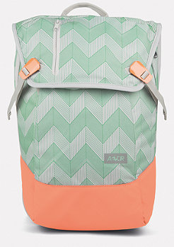 Daypack Flicker mint/coral