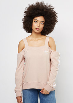 adidas IP Off Shoulder Crew dust pearl