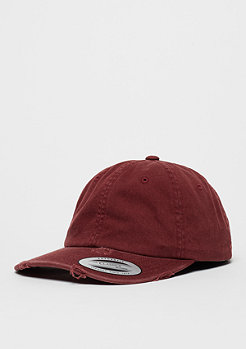 Flexfit Baseball-Cap Low Profile Destroyed maroon