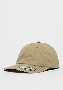 Baseball-Cap Low Profile Destroyed khaki