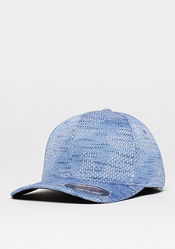 Baseball-Cap Jacquard Knit blue