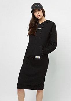 Kleid Maxi Hoody black