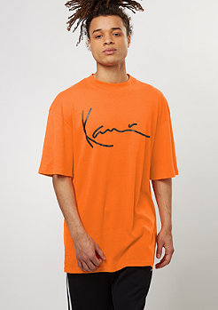 T-Shirt Basic orange popsicle