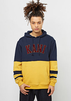 Karl Kani Hooded-Sweatshirt College blue/yolk yellow