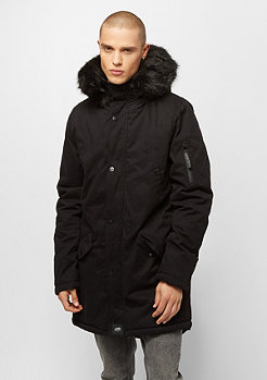 Winterjacke Parka With Fur black/black
