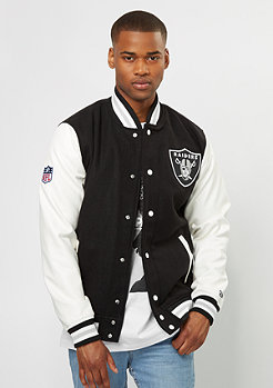 Varsity Jacket NFL Oakland Raiders black/white