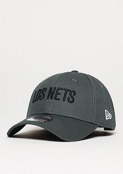 Baseball-Cap 9Forty Latin Nights NBA Brooklyn Nets grey