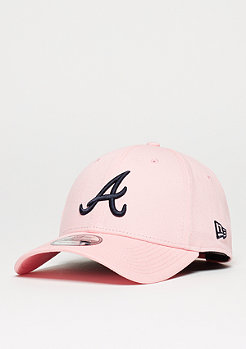 New Era Baseball-Cap 9Forty Atlanta Braves pink/navy