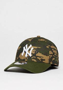 Baseball-Cap 39Thirty Camo Team Stretch MLB New York Yankees woodland