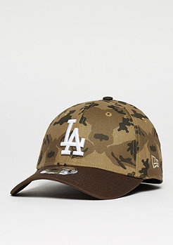 New Era Baseball-Cap 39Thirty Camo Team Stretch MLB Los Angeles Dodgers desert