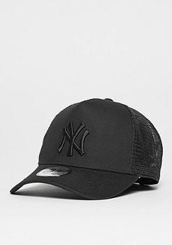 New Era A-Frame Essential Trucker MLB New York Yankees black/black