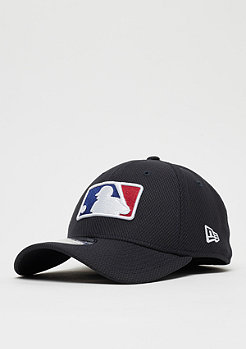 New Era 39Thirty League Logo MLB Silhouetted Batter Logo navy
