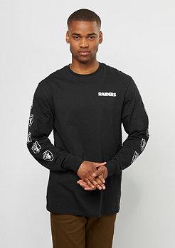 Longsleeve Team NFL Oakland Raiders black