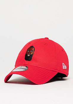 Baseball-Cap 9Forty Primary Head Harden red