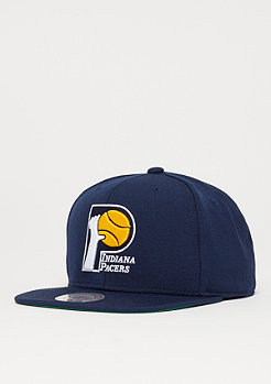 Mitchell & Ness Wool Solid 2 NBA Indiana Pacers navy