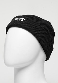 Beanie Small Logo black/white