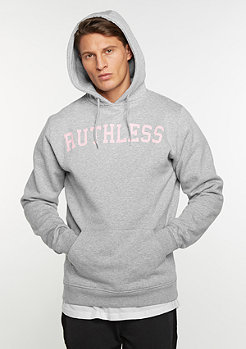 Hooded-Sweatshirt Ruthless heather grey