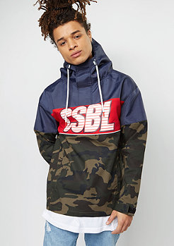 CSBL Jacket Ante Up Anorak navy/woodland