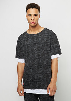 T-Shirt Deuces Long Layer black digi camo