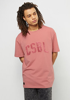 Cayler & Sons T-Shirt Way Slick Heavy Weight dark pale pink