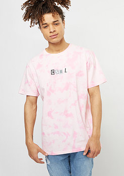 Cayler & Sons T-Shirt BL True Threat Tie Dye light pink