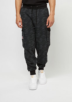 Cayler & Sons CSBL Sweatpants First Division Cargo black digi camo
