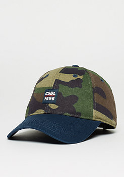 Baseball-Cap BL Ante Up woodland/navy