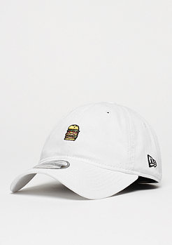 New Era 9Twenty Burger white