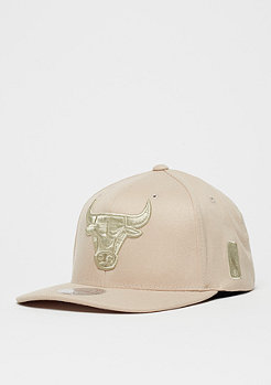 Mitchell & Ness Baseball-Cap 110 NBA Chicago Bulls khaki/sand