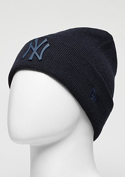 Beanie MLB Metal Badge Cuff Neyyan navy