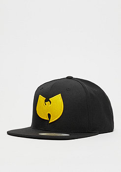 Snapback-Cap Wu-Logo black/yellow